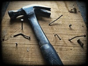 Hammers and nails The harder I practice, the luckier I get.""