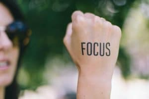 focus to have success